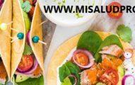 Tacos Con Atún y Salsa Escabeche